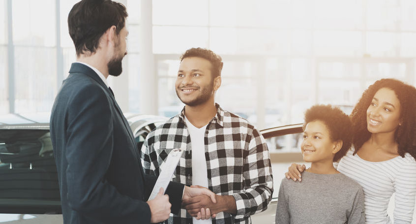 Family approved for a used car